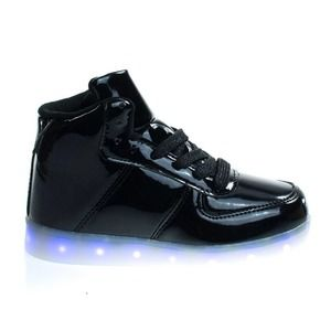Forever Link LED Sneakers Black Size 13